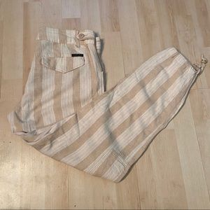 Sanctuary x Anthropologie striped ankle pants